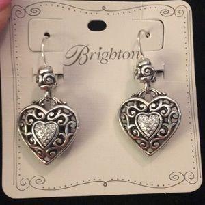 New! Brighton Reno Heart Earrings